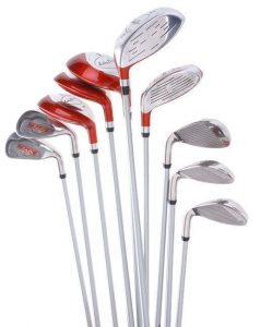 different golf club sizes