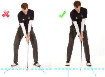 Golf Stance for Beginners